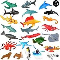 OOTSR Animales de Juguete, Surtido de 24 Mini