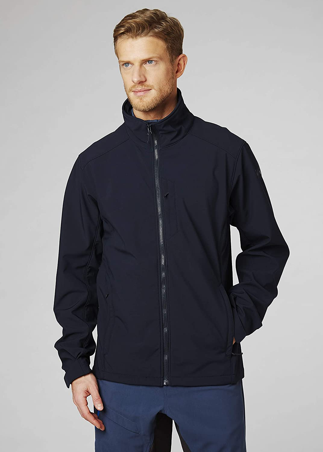 Helly Hansen Mens Paramount Softshell Water Resistant Windproof Breathable Jacket