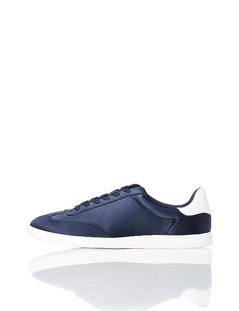 Find Zapatillas Deportivas Retro para Mujer, Azul (Navy), 41 EU