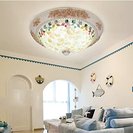 Close To Ceiling Lights Simple led round children romantic warm ceiling lamp living room bedroom European