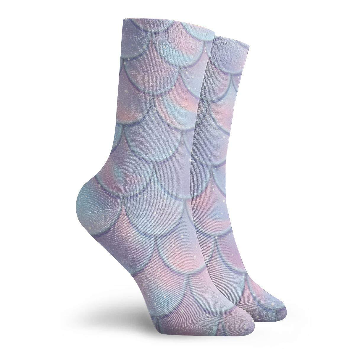 Mermaid Unisex Funny Casual Crew Socks Athletic Socks For Boys Girls Kids Teenagers