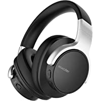 Mixcder E7 Noise Cancelling Bluetooth Kopfhörer Kabellose Over Ear Kopfhörer, eingebautes Mikrofon mit aktiver Rauschunterdrückung, 20 Stunden Akkulaufzeit, Faltbare Ohrhörer