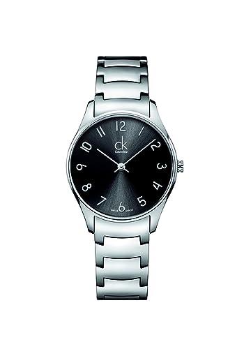 CK K4D2214X - Reloj de pulsera hombre, revestimiento de acero inoxidable, color plateado: Amazon.es: Relojes