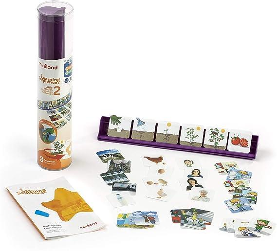 Miniland- Learning Sequences: Little Stories (5-6 Years) Juego de lenguaje para niños. (31967): Amazon.es: Juguetes y juegos