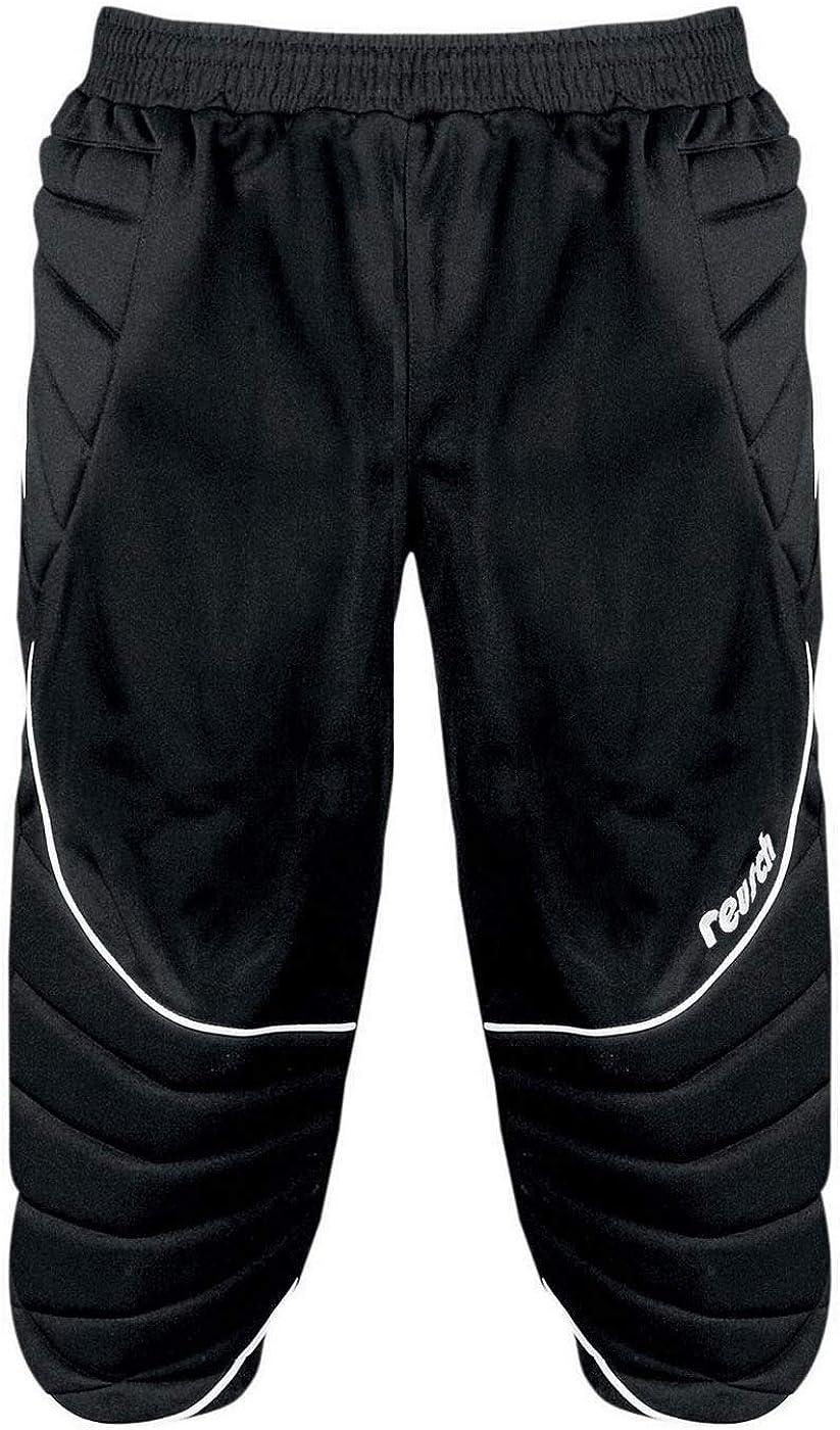 Reusch 360 Protec 3//4 Padded Kids Goalkeeper Goalie Pant Black