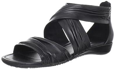 ECCO BOUILLON SANDAL Fashion Sandals Womens Black Schwarz