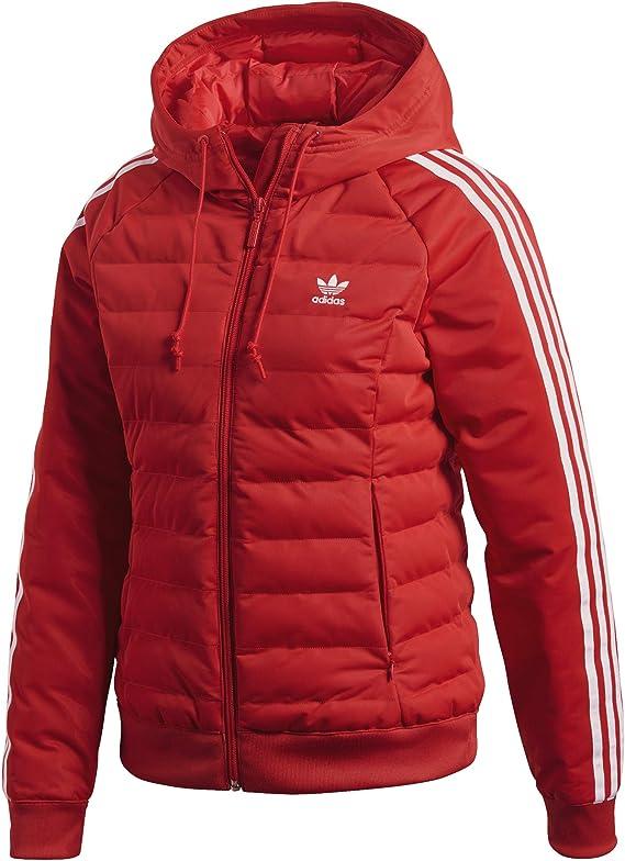 Adidas Originals Womens Monogram Slim Jacket Black White