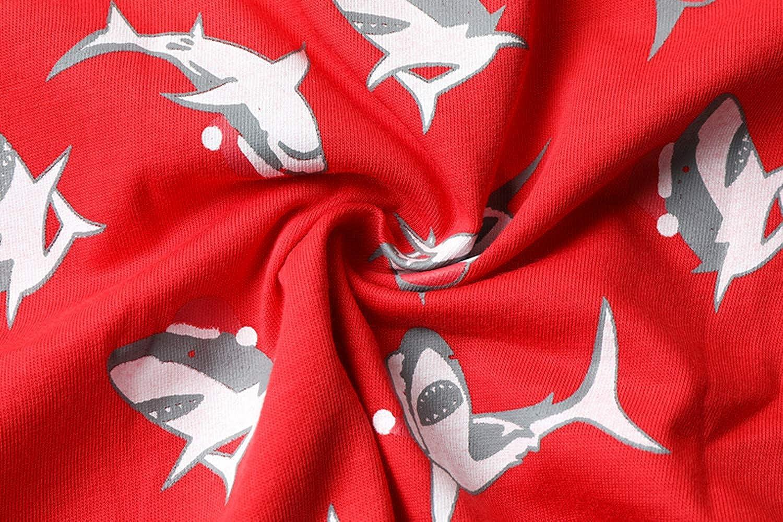 Tkala Fashion Boys Pajamas Summer Short Clothes Set 100/% Cotton Kids Pjs Sleepwear 1-12 Years