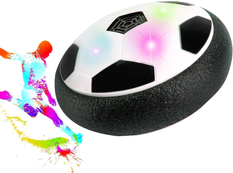 Musique air Hover ball Gosaer Football Int/érieur LED lumi/ère clignotant balle air puissance soccer Funny Toy Chidren cadeau