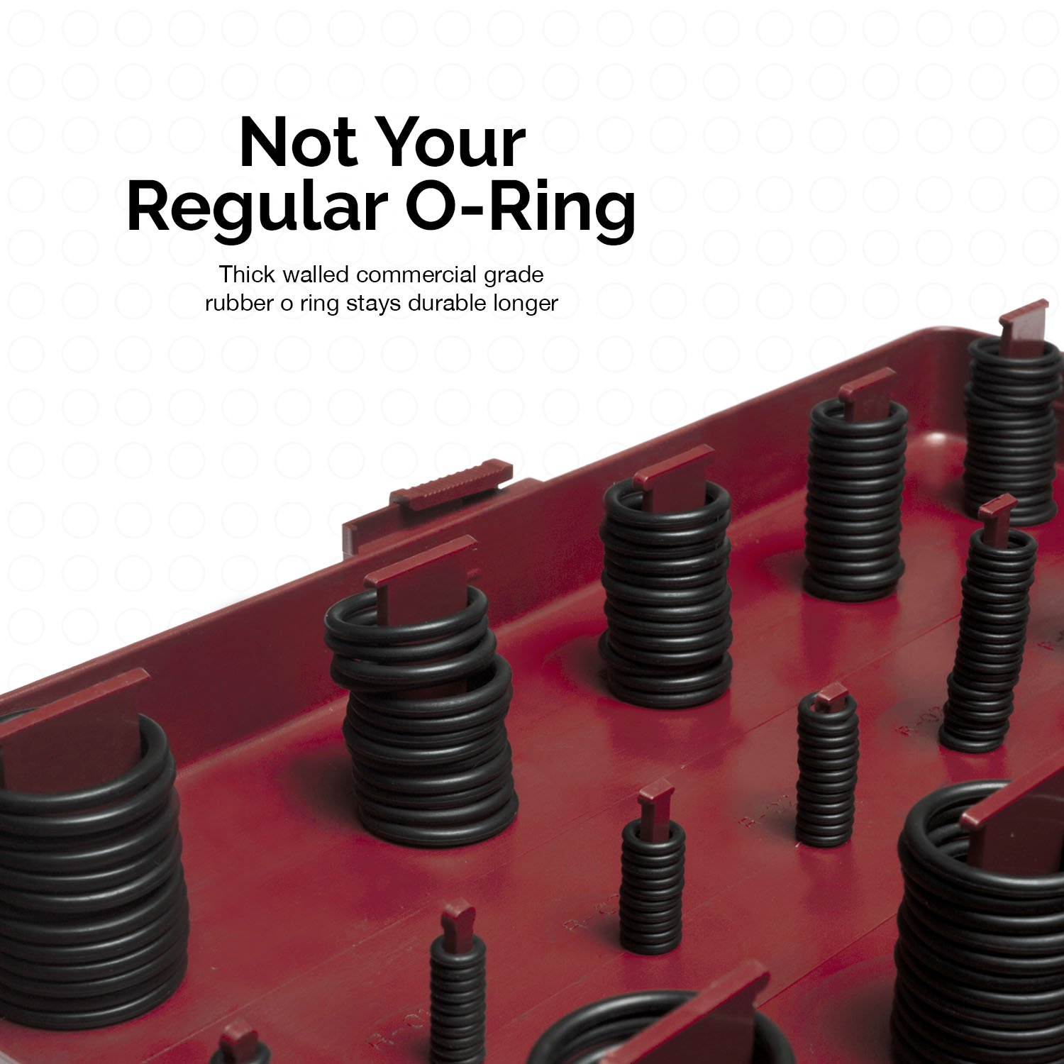 Neiko 50443A Universal O-Ring Assortment | 407-Piece Set | SAE ...