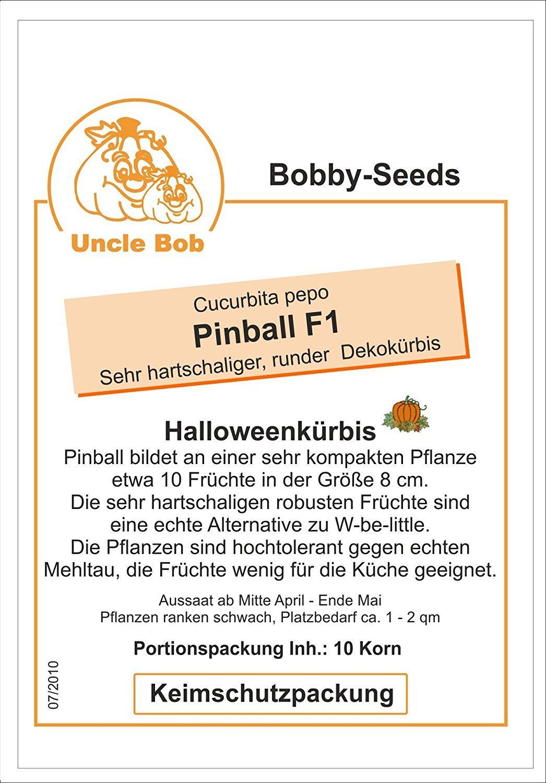 Bobby-Seeds Kürbissamen Pinball F1 PMT Portion: Amazon.de: Garten