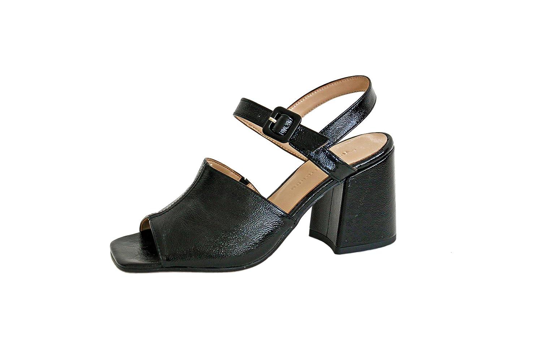 factory price 80650 32ebc About Arianne Rita Black, Sandalia de Tacón EN Charol Negro ...