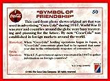 1993 Coke Trading Card Coca-Cola #50 Symbol of