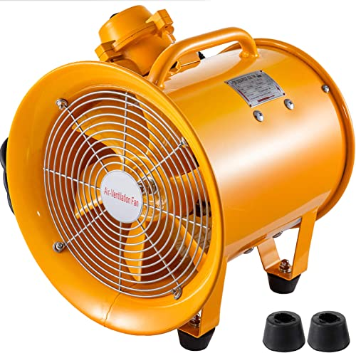 Mophorn Explosion Proof Fan 12 Inch 300mm Utility Blower 550W 110V 60HZ Speed 3450 RPM