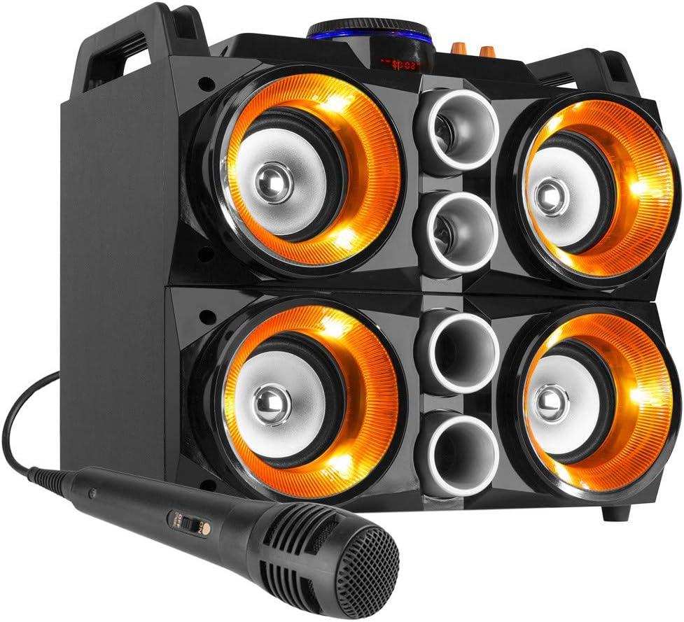 Fenton MDJ200 Partystation 150W de Maximo. con bateria y Bluetooth