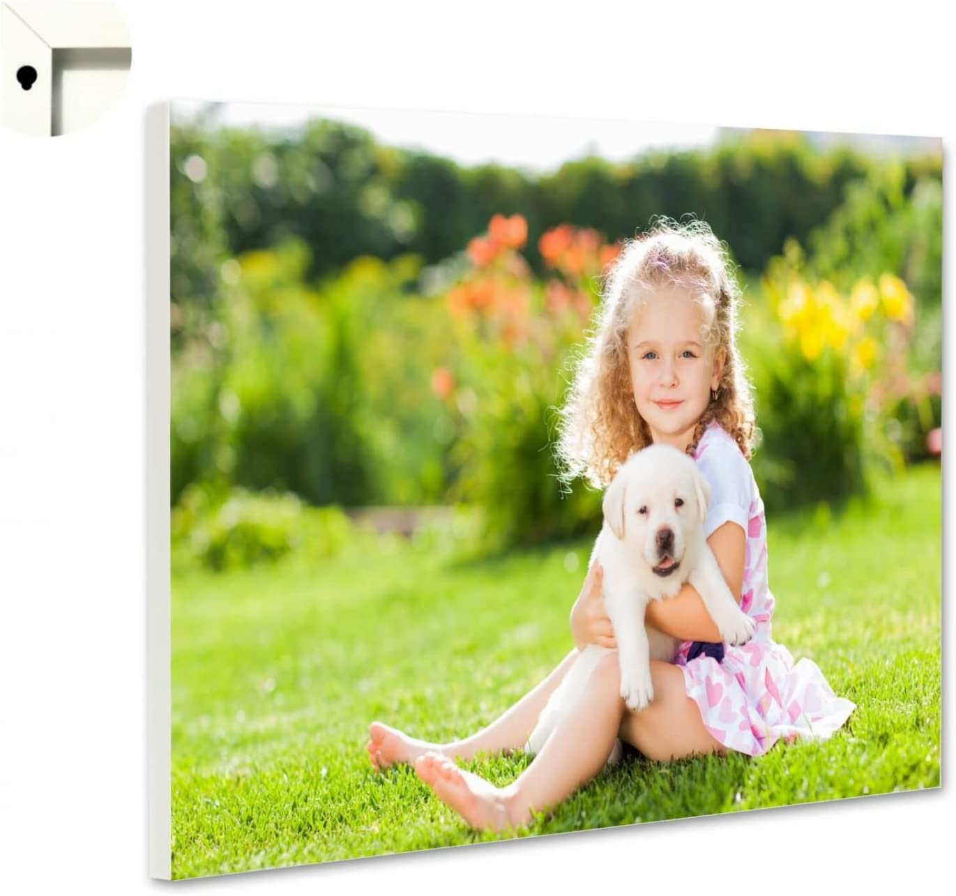 Magnettafel Pinnwand mit Wunschmotiv Ihr eigenes Foto Bild Motiv Gr/ö/ße 100 x 80 cm