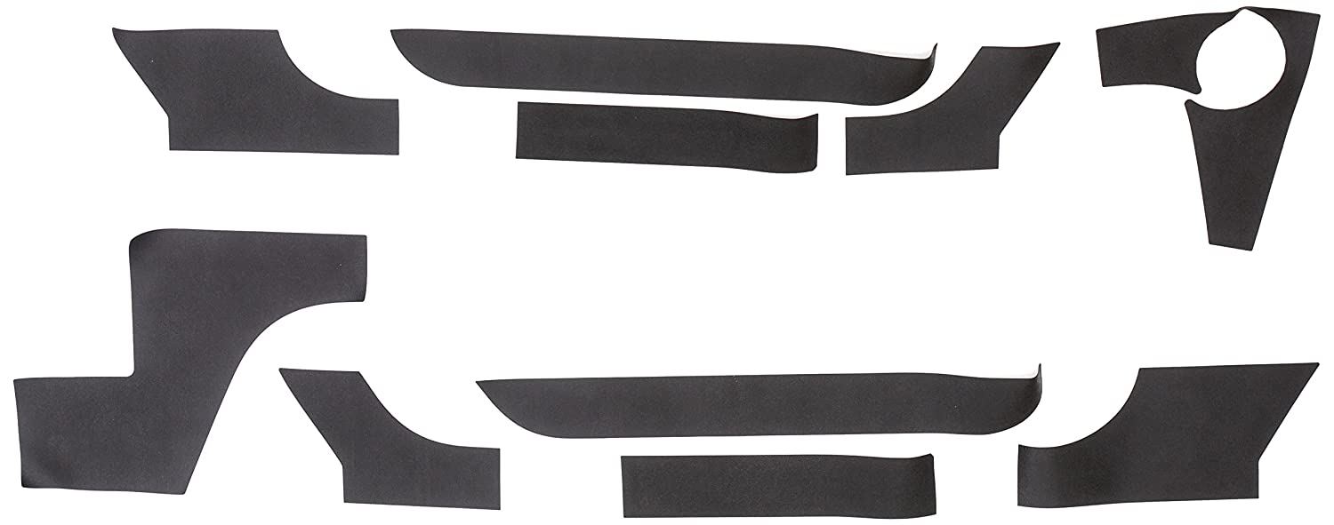 Lund 5821100 Black Small Rhino Lining Rocker Guard