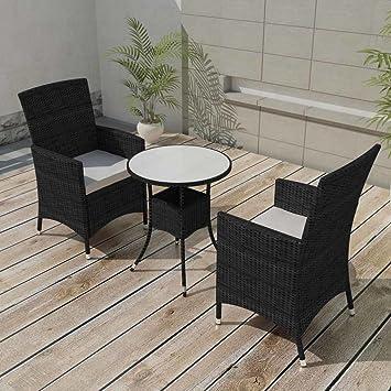 Festnight Ensemble de mobilier de Jardin Salons de Jardin 5 Pieces ...