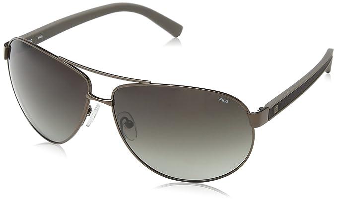 Fila SF8881-gafas de sol Hombre Marrón Marrón (SHINY DARK ...