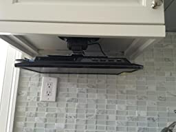 under cabinet tv mount customer reviews mount it mi 4211 tv ceiling 27542