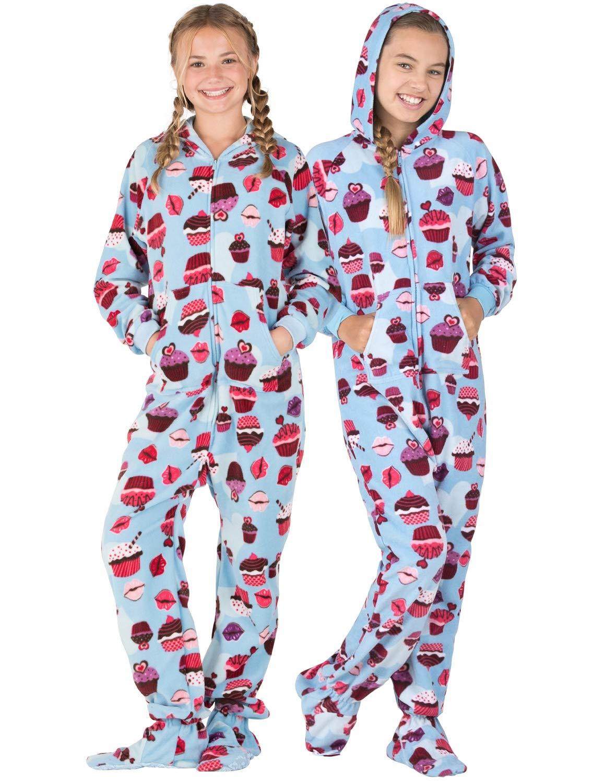 eb048b9c2042 Tween Footie Pajamas