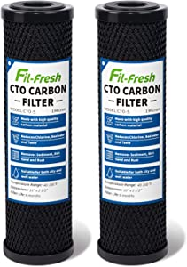 Fil-fresh 1 Micron Carbon Water Filter, 2.5