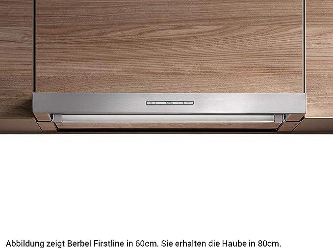 Berbel Firstline BEH 80 FL - Campana extractora de acero inoxidable: Amazon.es: Grandes electrodomésticos