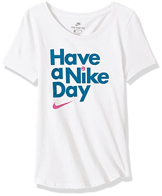 040252bf4a51f NIKE Sportswear Girls' Have a Nike Day Scoop Tee