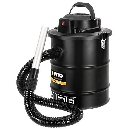 Aspirador soplador de cenizas de 1000 W 18L + filtro HEPA sartenes ...