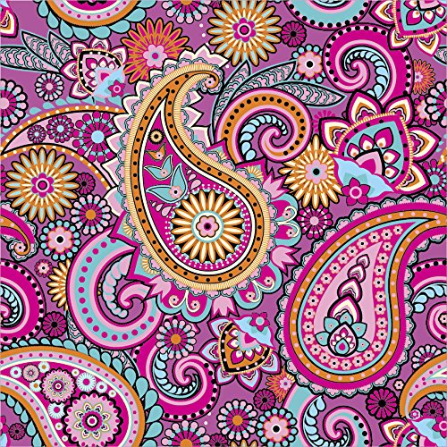 Paisley Pattern #20 Craft Cutter Vinyl Pink Outdoor Vinyl 12