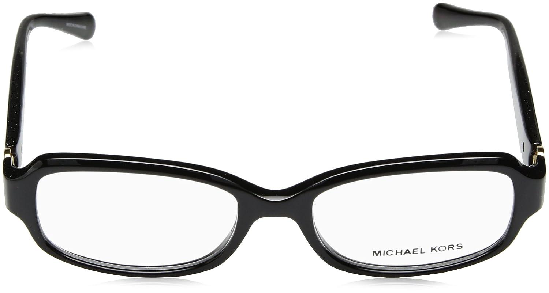 MICHAEL KORS Michael Kors Damen Brille »TABITHA V MK8016«, schwarz, 3099 - schwarz