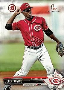 2017 Bowman Draft Baseball #BD-6 Jeter Downs Pre-Rookie Card - 1st Bowman Card