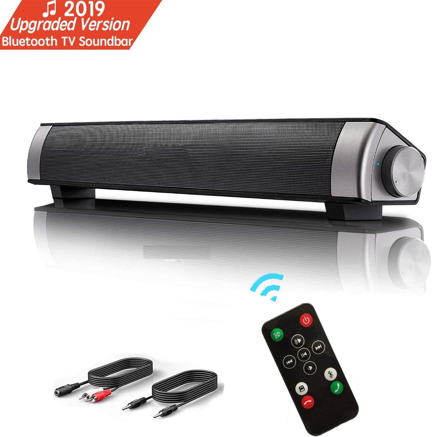 Lautsprecher Tv Sound Bar Wireless Bluetooth Soundbar Tragbare Stereo Wired Usb Powered Computer Lautsprecher Portable Speaker Palyer Mit Eingebautem Subwoofer Unterstützung Optisch Aux Tf Karte Usb Audio Hifi