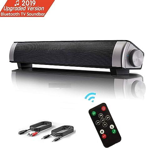 Barra de Sonido, Altavoz PC de Sonido USB, Barra de Sonido de TV, 10W 3.5mm