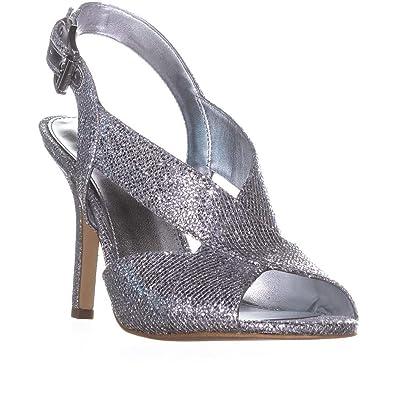 510a3c498b0 Michael Kors Women s Becky Dress Sandals Silver ...