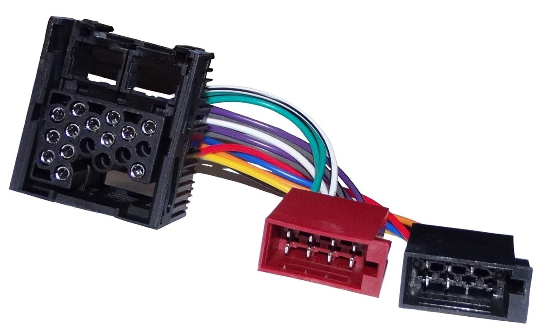 Aerzetix - Fascio adattatore cavo cablaggio spina ISO per autoradio originale . SK2-C11932-A174