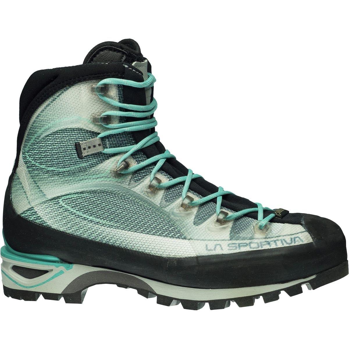 La Sportiva Trango Cube GTX Mountaineering Boot - Women's B01K5SIY3Q Medium / 41.5 M EU / 9.5 B(M) US|Light Grey/Mint