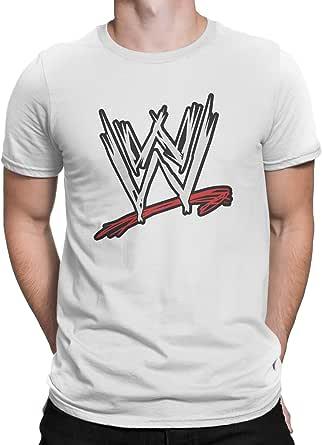 Upteetude WWE Logo Unisex T-Shirt - White