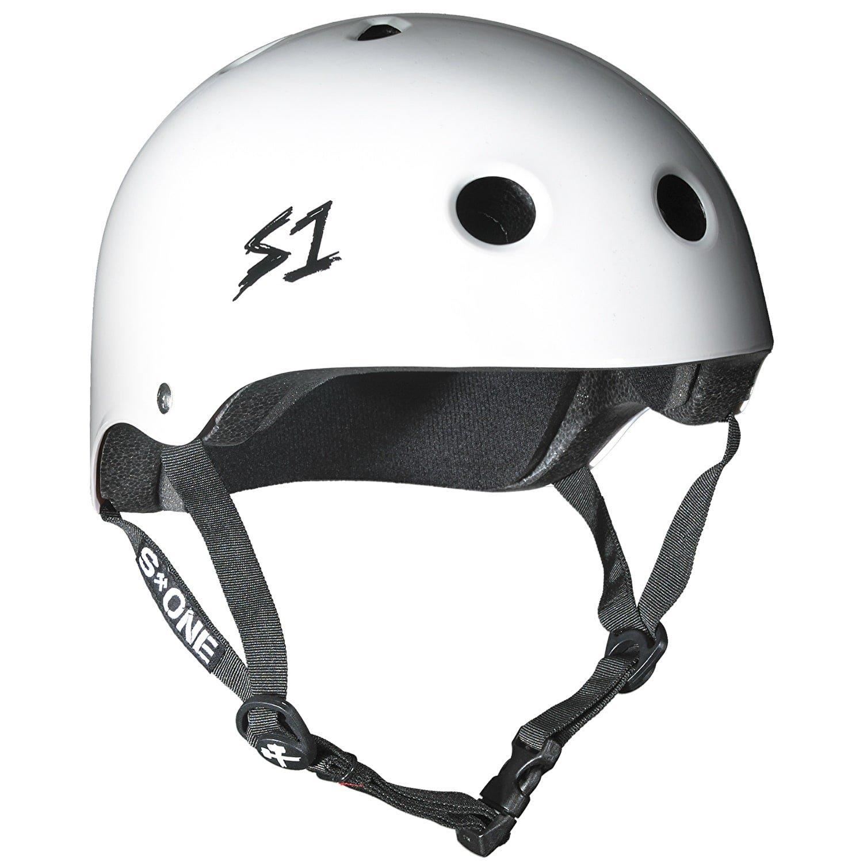 S1 Lifer Multi Impact Helm – Rot glänzend Weiß weiß M Amazon Sport & Freizeit