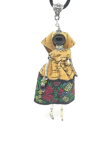 migliore qualità per sconto speciale di miglior sito web Collana Bambolina Sarda Sughero: Amazon.it: Handmade