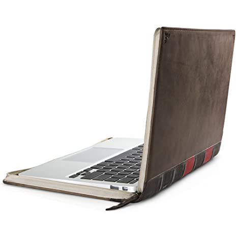 hot sales c84b4 8090c Twelve South BookBook for MacBook | Vintage Leather Book case/Sleeve for  11-inch MacBook Air