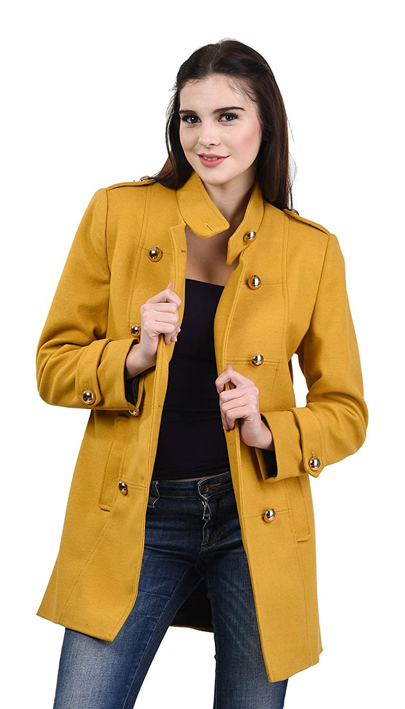 fd2527117de63 Okane Women's Wool Trench Coat