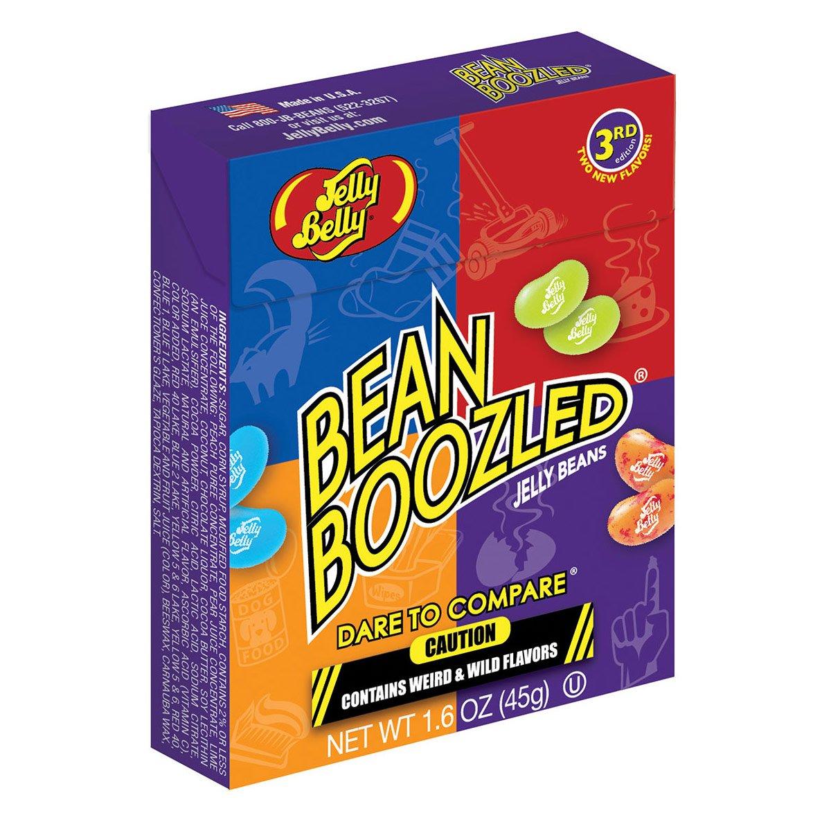 Bean Boozled Flip-Top-Box 3RD Edition Jelly Belly Beans 45g - (071567988612): Amazon.es: Alimentación y bebidas