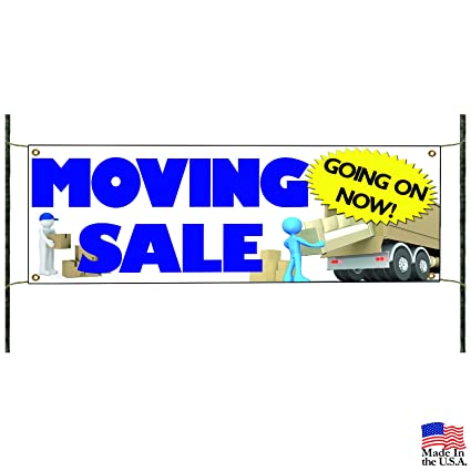 amazon com moving sale going on now business promotional banner