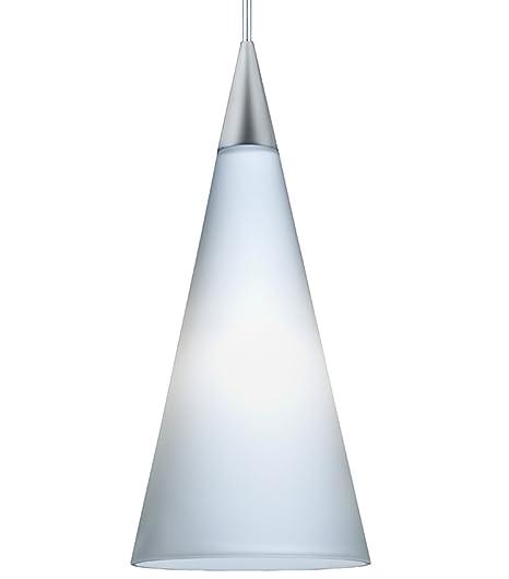 Juno Lighting Group PKH312OPAL 1 Light 12 Volt Tall Cone Mini Pendant Kit