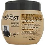 Franck Provost - Expert Nutrition+ Masque Professionnel Pour Cheveux Epais, Très Secs Ou Frisés - 400 ml - Lot de 1
