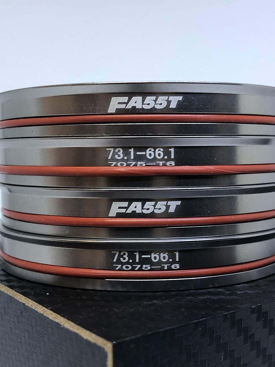 FA55T Hub Centric Rings 73.1mm to 66.5mm OEM or Aftermarket Wheels Import Domestic