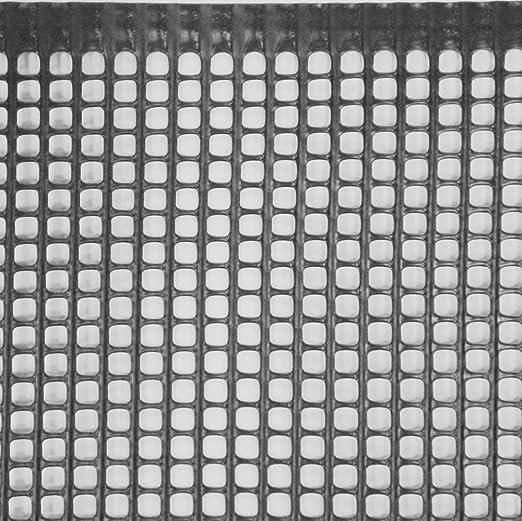 Jardín Valla rejilla de plástico 5 mm, 1 x 12,5 m, Negro: Amazon.es: Jardín