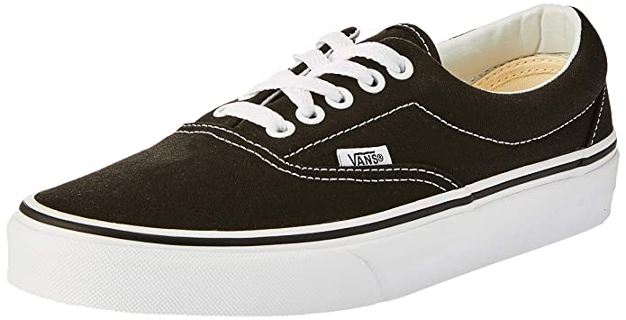 Vans Era Sneakers Unisex Damen Herren Schwarz/Weiß Größe EU 39