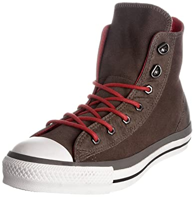 6fff59adcde6 Converse Chuck Taylor All Star Brown Suede Leather Hiker Style Hi Top  117283 (4 US
